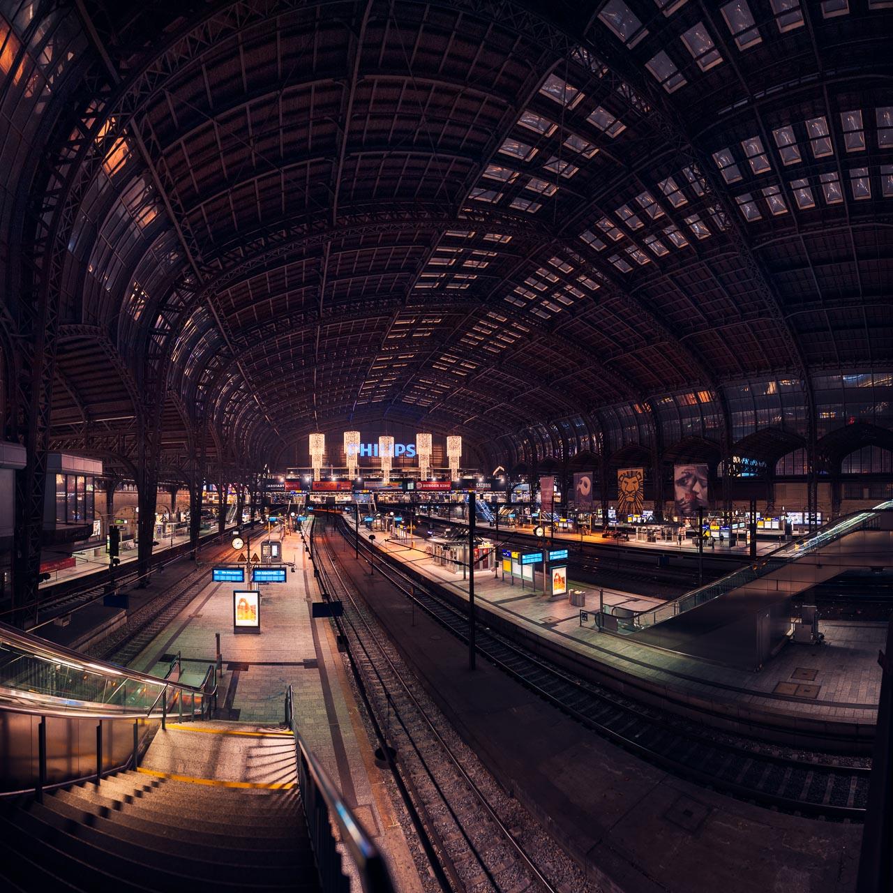 Hamburg - Bahnhof