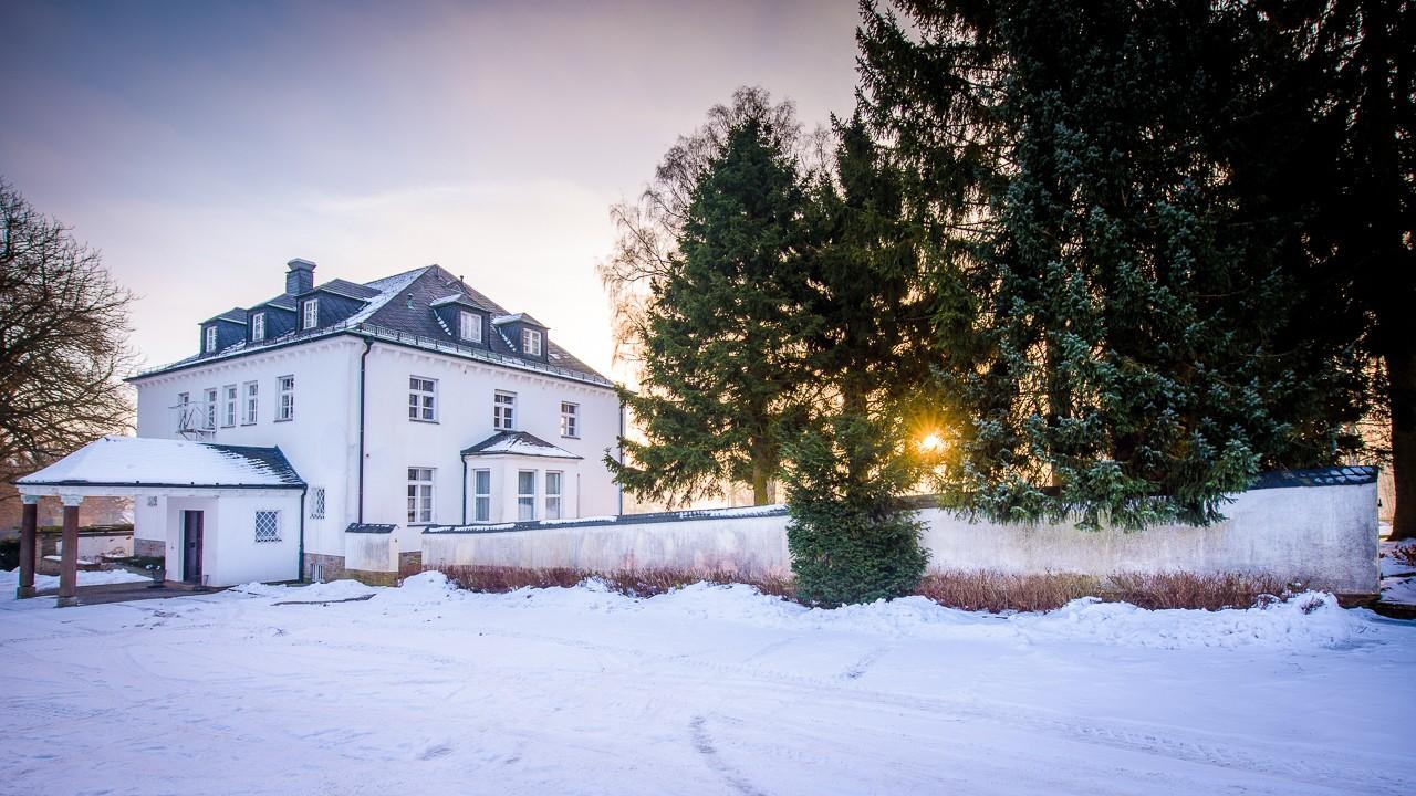 Winterliches Hof
